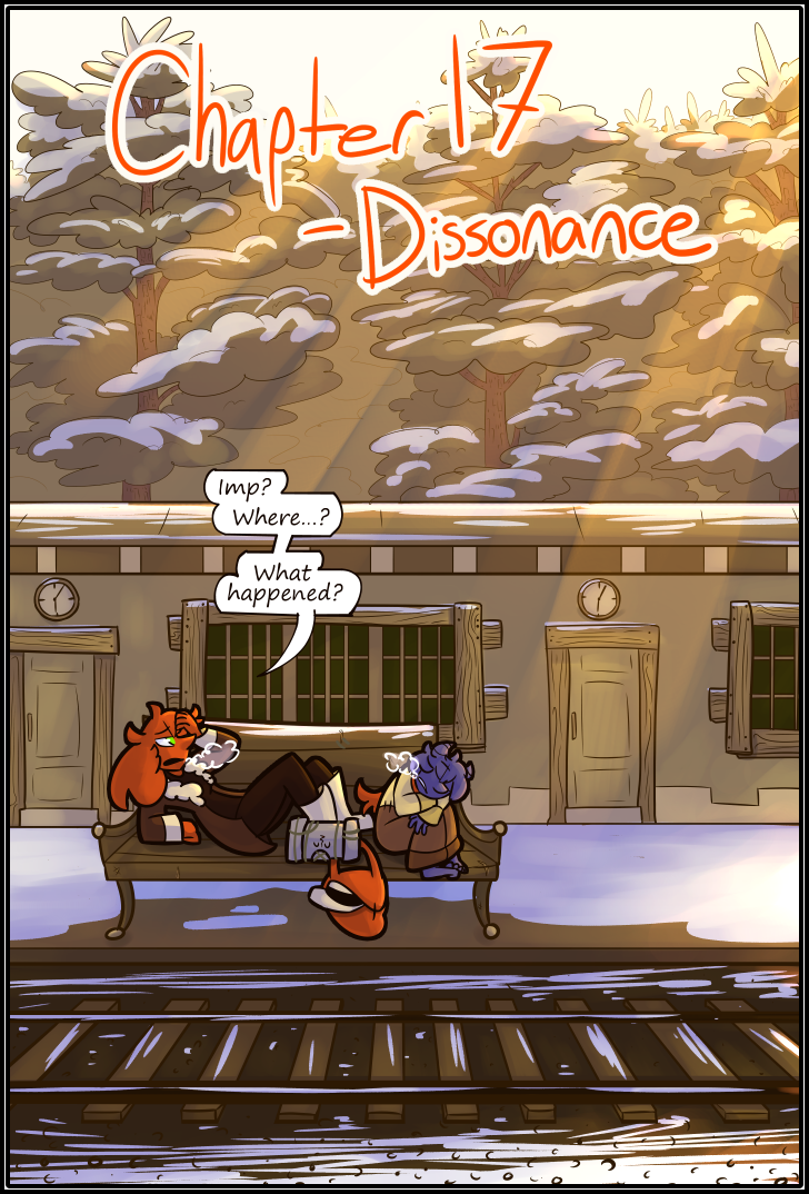 Chapter 17- Dissonance- Page 399